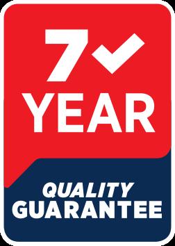 7 Year Quality Guarantee